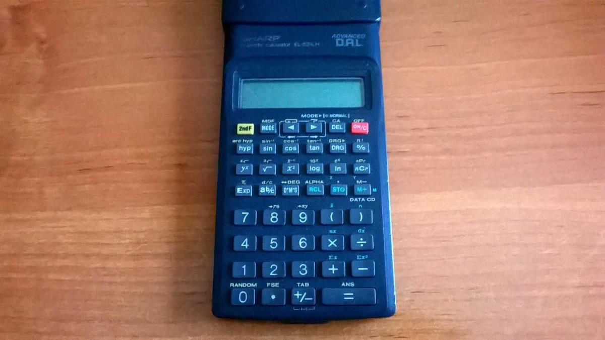 Kalkulačka SHARP… PREDANÉ
